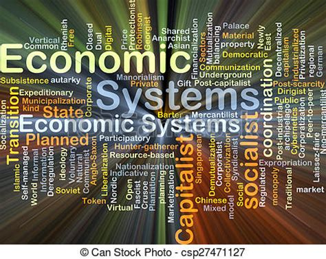 clip art  economic systems background concept glowing