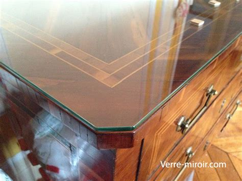 protection bureau verre protection de table en verre trempe