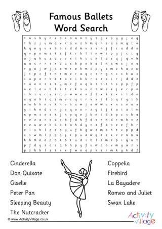 ballet puzzles