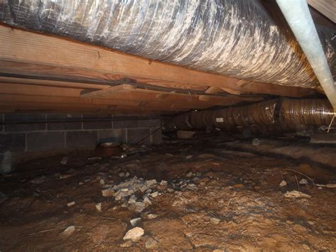 covering basement crawl space floor with plastic vapor barrier crawl space repair crawl space waterproofing in hurricane wv d and dirty crawl space