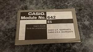 Details About Casio 642 Es User Guide    Manual