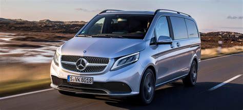 Mercedes V Klasse 2019 by Mercedes Morgen Ausblick Auf Das Facelift So K 246 Nnte