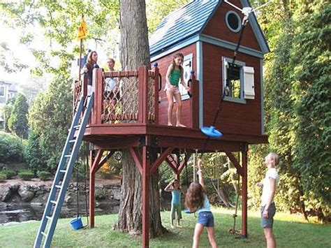 Tips To Build Coolest Tree Houses For Your Kids Interior