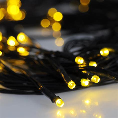 100 led solar string light power outdoor yard lawn