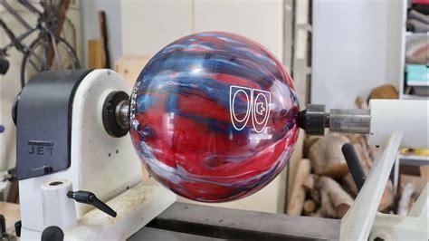 wood turn  bowling ball youtube