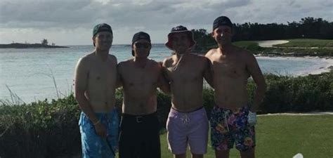 pgas rickie fowler jordan spieth  friends enjoy