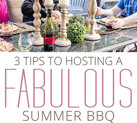 How To Throw A Summer Backyard by 3 Summer Bbq Hosting Tips How To Throw An Outdoor