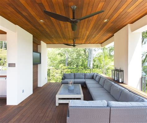 outdoor patio ceiling fans patio traditional with wood