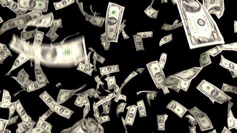 Money Falling Dollars Financial Win Us Currency Tax Make