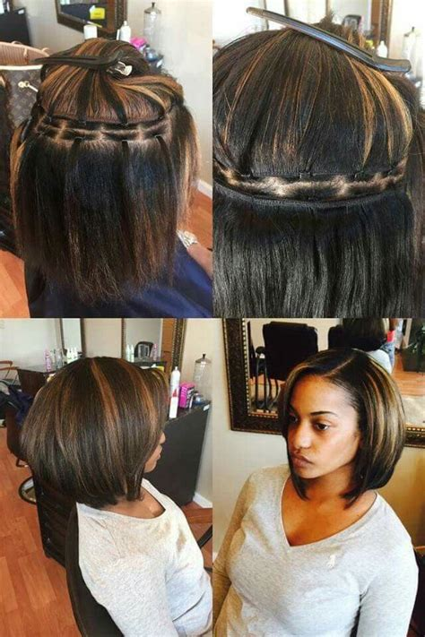 Hairstyles With Sew Ins by Easy Weave No Braids Hair Hair Hair Styles Braidless