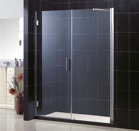 dreamline shower door unidoor hinged shower door