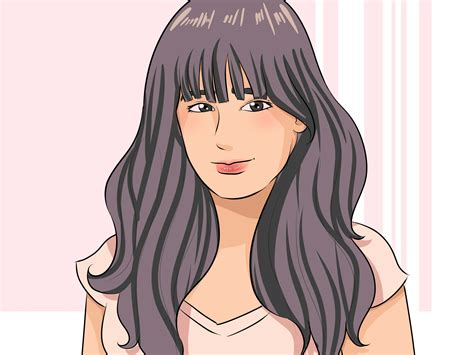 Cutting The Fringe how to cut fringe bangs 13 steps with pictures wikihow