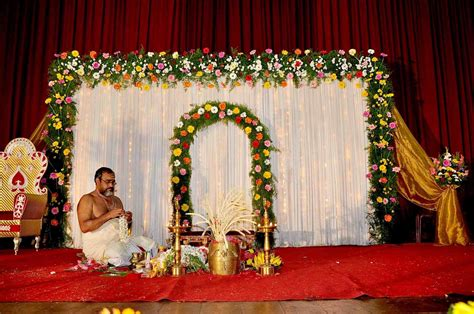 decoration for simple wedding stage decorations siudy net