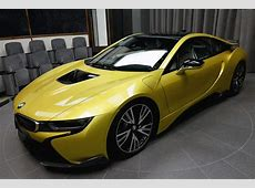 Austin Yellow BMW i8 On Display With Multiple AC Schnitzer