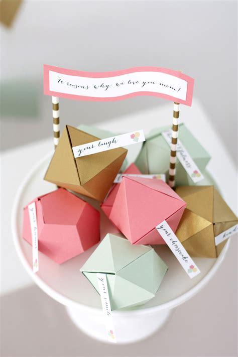 geometric mothers day surprise kristi murphy diy ideas