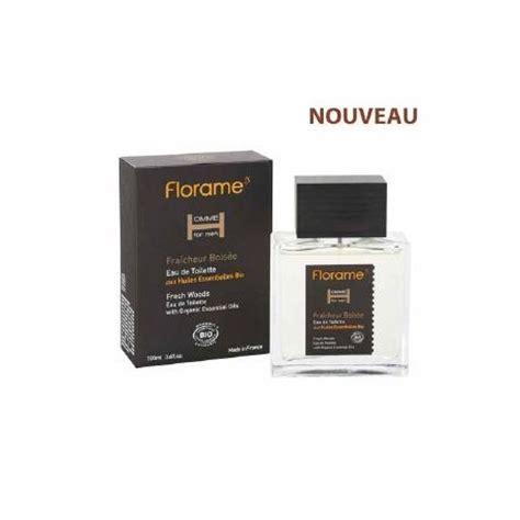 eau de toilette bio homme fraicheur bois 233 e parfum bio florame