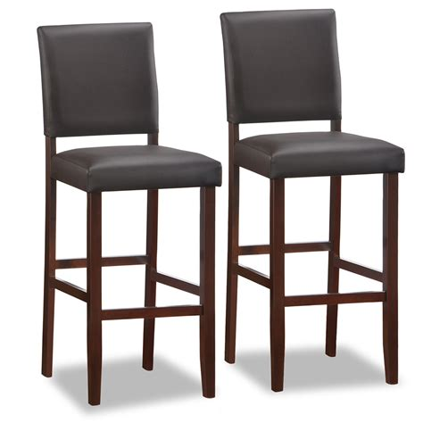 counter height chairs for kitchen island furniture wooden stool with back and brown wooden