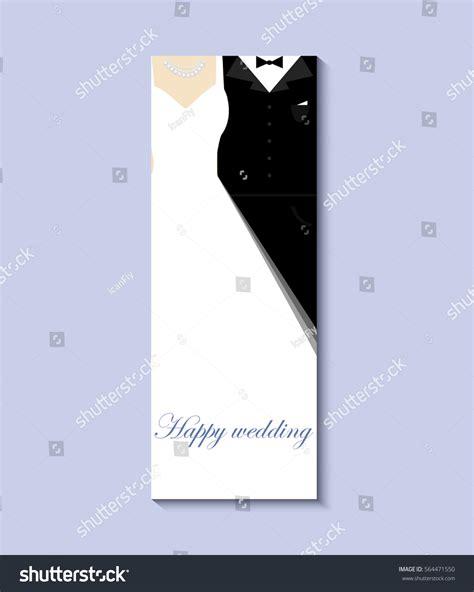 bride groom vector  eps greeting stock vector