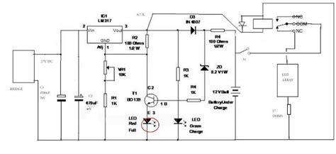 12v smart battery charger circuit 12v smart battery charger circuit circuit projects