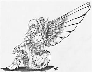 .:Steampunk Angel:. by scaryrabidfangirl on DeviantArt