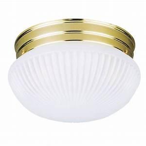 Westinghouse light ceiling fixture white interior flush