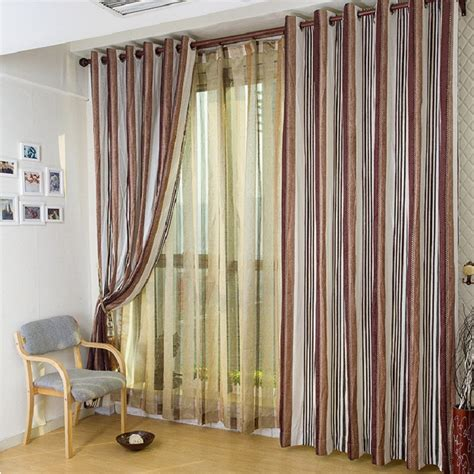 coffee mid century modern curtains for home