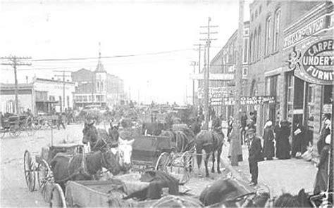 elk city street scene