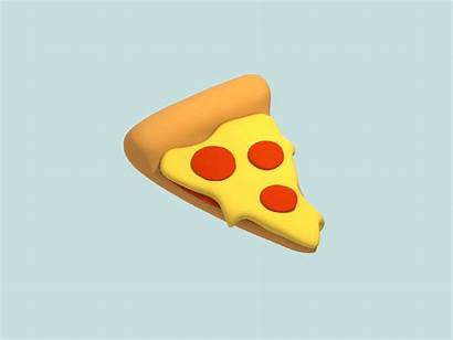 Pizza Animation Smear Dribbble Exaggeration Playing Around