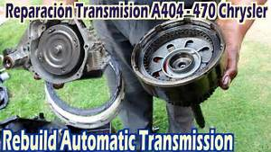 Automatic Transmission A404  413 A415 A470 A670