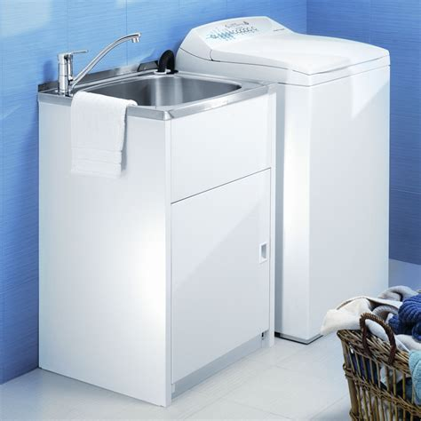 utility sink cabinet modern single free standing laundry sink with cabinet