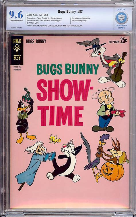 cbcs collections phone number bugs bunny 87 cbcs 9 6 ow w mister magik woo collection