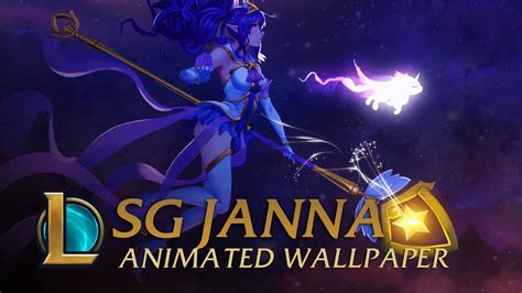 Guardian Animated Wallpaper - guardian janna animated wallpaper league of