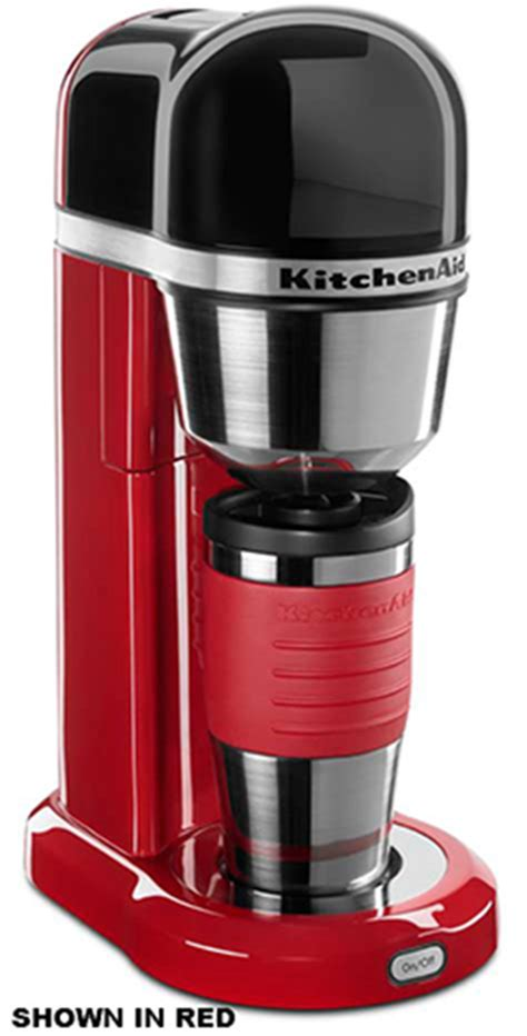 Discover coffee makers that give you professional results every morning. KitchenAid KCM0402ER 18-oz Personal Coffee Maker - Insulated Mug, Empire Red
