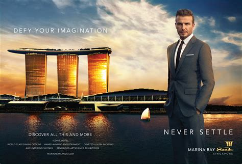 Marina Bay Sands unveils 'Never Settle' campaign starring ...