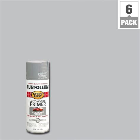 rust oleum stops rust 12 oz automotive primer spray paint