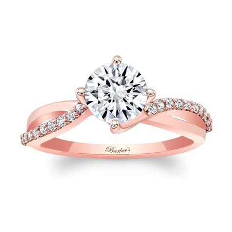 barkev s rose gold engagement ring 8077lp barkev s