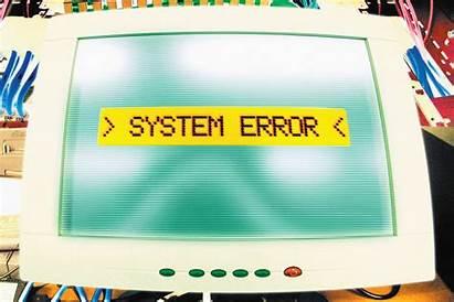 Error System Message Code Computer Lucas Getty