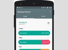 Meeting Planner App für Android