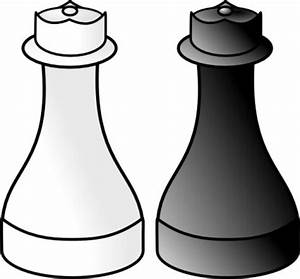 Chess Black And White Clipart - Clipart Suggest