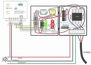 Single Phase Submersible Pump Starter Wiring Diagram