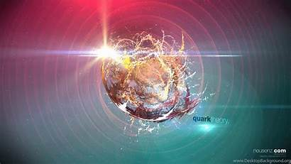 Physics Quark Quantum Theory Wallpapers Particle Background
