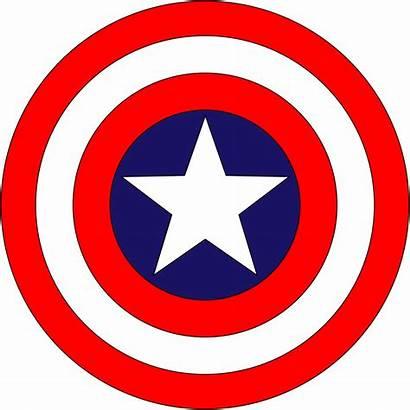 Shield America Captain Clipart Superhero Clip Logos