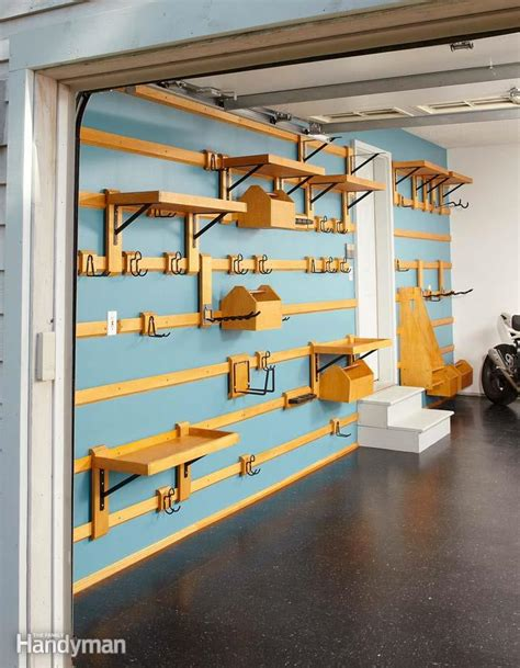 customizable garage storage  family handyman