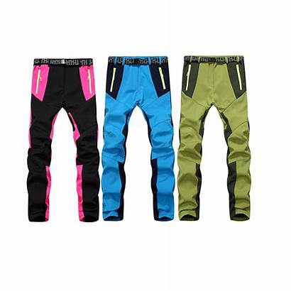 Waterproof Pants Trousers Hiking Cycling Running Warm
