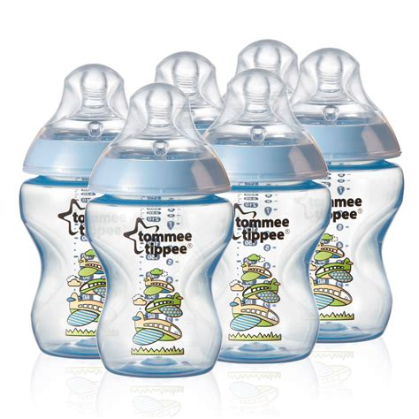 Tommee Tippee Closer To Nature 260 Ml9fl Oz Decorated