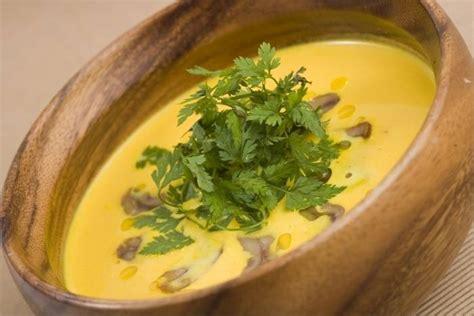 chataignes recettes cuisine recette de crème de potiron aux éclats de châtaigne facile