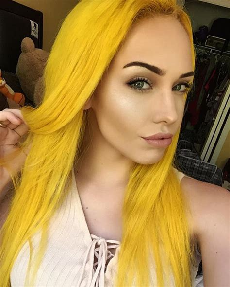 With Yellow Hair by 25 Best Ideas About Yellow Hair Dye On Yellow