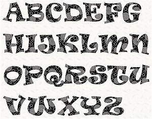 alphabet ravie font 6 inch stencil by linleys designs With font templates to print