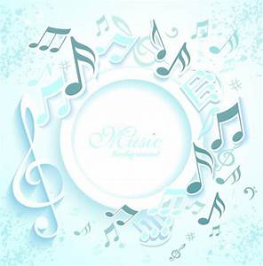 Free 3D Musical Notes Background Vector - TitanUI