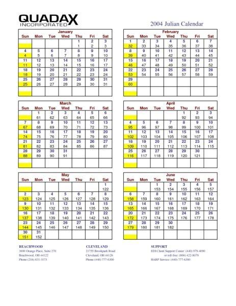 quadax julian calendar   printable calendar